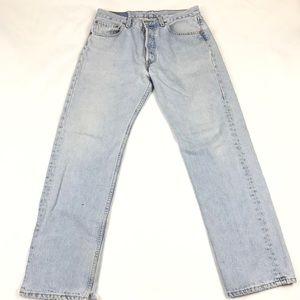 Levi's 501 Mom Jeans Hi Rise Straight Leg VTG Fit